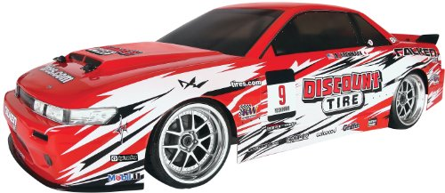 LRP Electronic 109291 - E10 Drift RTR Discount Tire Nissan S13 - Gas-rc-car Motoren
