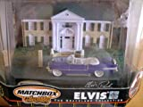 Matchbox Collectibles - Elvis: The Graceland Collection - 1 of 5 in Series - 1955 Cadillac Fleetwood 60 Special w/Graceland Diorama