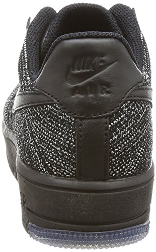 NIKE AIR FORCE 1 FLYKNIT LOW Damen Nike Mod. 820256 Schwarz/Weiß/Schwarz
