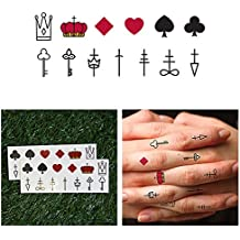 Amazon Fr Tatouage Carte De Poker
