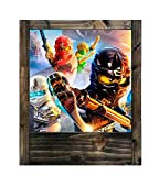 Tischlampe ninjago (4° version)