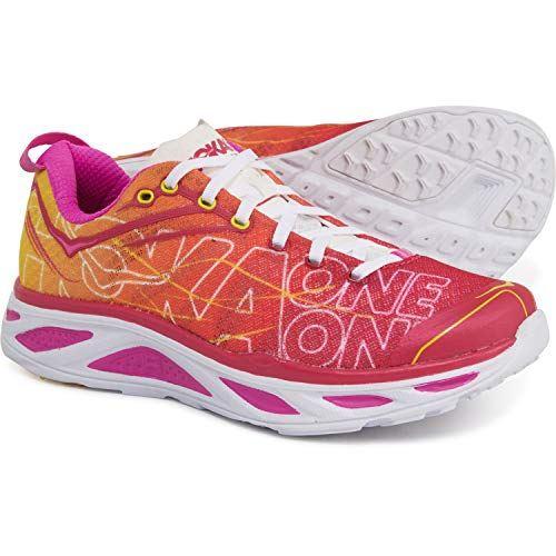 HOKA ONE ONE Women's Huaka 2 Virtual Pink/Neon Fuchsia Shoes Size: 7