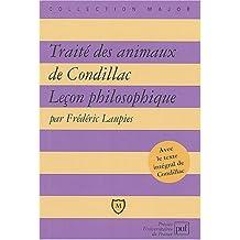 """""""Traité des animaux"""" de Condillac : Leçon philosophique"""