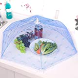 #8: Honestystore® Foldable Mesh Screen Food Umbrella Cover Picnic Barbecue Party Sports Fly Mosquito Net Tent -White