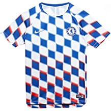 2b69bac3d3 Nike 2018-2019 Chelsea Pre-Match Training Football Soccer T-Shirt Camiseta (