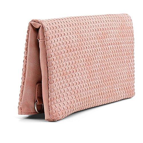 Fritzi aus Preussen Damen Ronja CLAS Clutch, Pink (Rose) 19/Swipe Weave, 29x15x3 cm