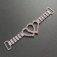 Tangpan strass bikini connettore Pink