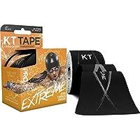KT Tape Pro 20 Strip vorgeschnittene Synthetik-Kinesiologie-Tape, Schwarz preisvergleich bei billige-tabletten.eu