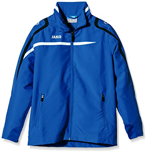 Jako Kinder Präsentationsjacke Performance, Royal/Weiß/Marine, 164, 9897 (Twill Mantel Kinder)