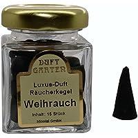 Luxus Duft Räucherkegel - Weihrauch - Räucherkerzen Duftkegel 15 Stück im Glas preisvergleich bei billige-tabletten.eu