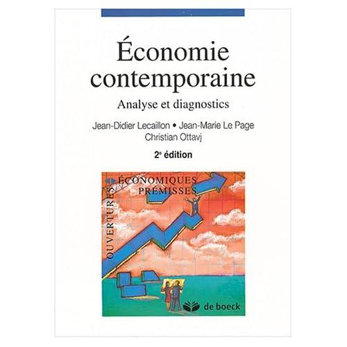 Economie contemporaine : Analyse et diagnostics