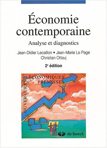 Economie contemporaine : Analyse et diagnostics