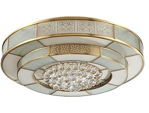 XXFFH Glühlampen Leuchtstofflampe Licht Fyn 114W Durchmesser 55Cm Led Messing