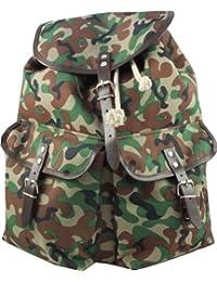 Preisvergleich für Company's Vintage Oxford Bag Company Rucksack Lederriemen, Camouflage.