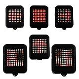 LED per bicicletta luce freno Indicatore di direzione USB ricaricabile sensore di inclinazione ruecklicht 1200mAh