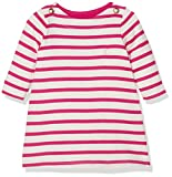Petit Bateau Baby-Mädchen Kleid Robe ML, Mehrfarbig (Coquille/Flashy 65), 68 (Herstellergröße: 6m/67cm)