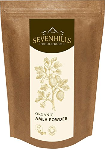 Sevenhills Wholefoods Organic Raw Amla Powder (Indian Gooseberry) 250g Test