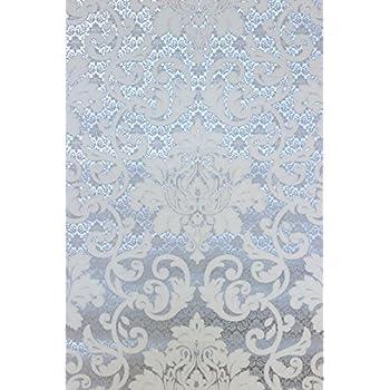 Rasch 148213 papiertapete muster ornament silber grau for Tapete grau mit muster