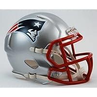 NFL Riddell Football Speed Mini Helm New England Patriots