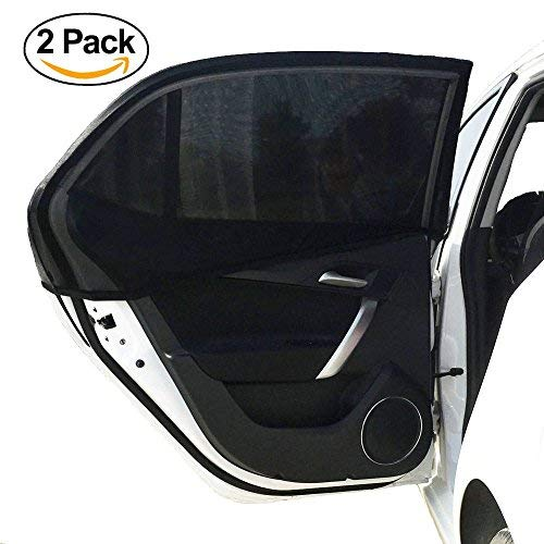 2x Car Sun Shade | Baby Sun Protector -- Car Window Shade -- UV Protection | Stop Annoying Sun Glare for Children and Toddlers | Pack of Two | Charm Home Improvements