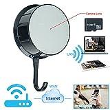 WISEUP 16GB 1920x1080P HD Gancio Wifi Rete Telecamera Spia Attivato Movimento DV Videocamera Supporto Iphone Android Vista Remota 7/24 Ore di Registrazione Video
