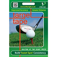 Impact Tape Improved Accuracy and Distance Golf Target Tape 44 Stickers - White
