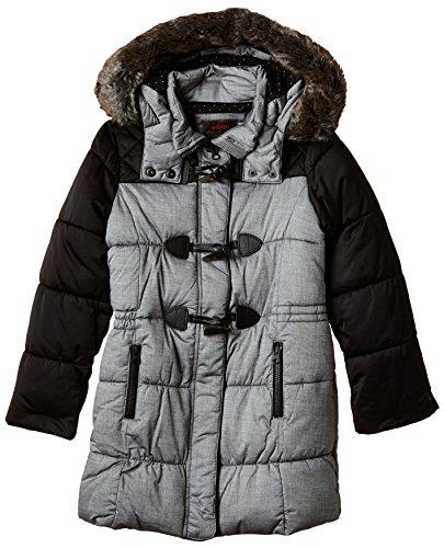 Catimini - GRAND, Cappotto per bambine e ragazze, grigio (gris), 4 anni (Taglia produttore: 4 anni)