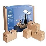 Blocchi da costruzione grandi: giocattolo creativo composto da 96 blocchi XL - un regalo perfetto per ragazze e ragazzi