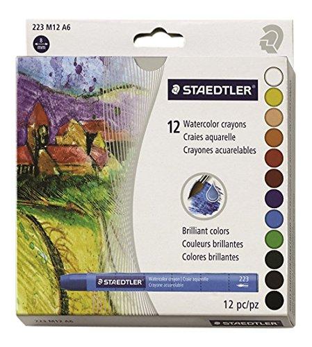 Staedtler Karat Aquarell Premium Watercolor Kreiden, 223M12