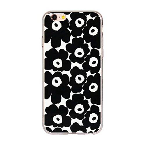 """MOONCASE iPhone 6 Coque, Ultra Mince Motif Etui Souple TPU Silicone Antichoc Housse Case pour iPhone 6 / 6s (4.7"""") (Fleur 05) Fleur 04"""