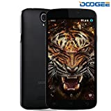 DOOGEE X6 Pro, Unlocked 4G Smartphone - Pantalla IPS de 5.5 '' - 2GB de RAM + 16GB de ROM - Dual SIM móvil con cámara dual - Espera larga SIM gratis - Teléfono celular Android - Negro