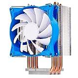 SilverStone SST-AR08-V2 - Dissipatore CPU Argon 3x Direct Contact Heatpipe, 92mm PWM, Intel/AMD, AM4 pronto