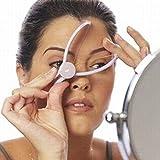 Gesichtsbehaarung Entferner Kit leicht Frauen Augenbrauen Einfädeln Epilierer Make-up Beauty Tools Haar Manuelle Entferner für Mädchen Damen violett