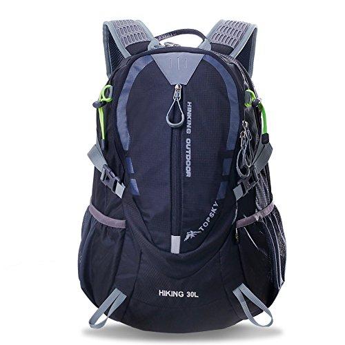 Outdoor Bergsteigen-Tasche/Paar Wanderrucksack/ Radsport Rucksack/ Reise-Rucksack Schwarz