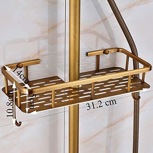 Zoom IMG-2 rubinetto doccia in ottone anticato