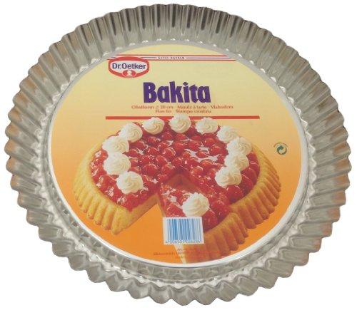 Dr. Oetker Bakita Obstform 28 cm Obstkuchenform Backform