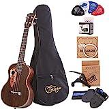 Paisen Tenor ukulele 26 pulgadas ukelele profesional de palisandro envía un conjunto...