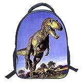 ParaCity kids Backpacks 3D Vivid Animal Print Backpack Toddler Kid Neoprene School Bags Hiking Daypacks for Kindergarten Boys Girls (Dinosaur 3)