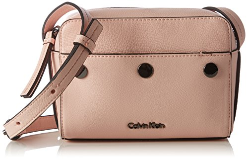 Calvin Klein Damen Le4 Small Crossover Umhängetasche, Pink (Blossom), 7x13x17 cm (Tasche Blossom)