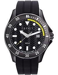 Esprit Men's Analogue Quartz Watch with Rubber Strap – ES108831001