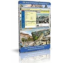 GS Ansichtskarten-Verwaltung 5 - Software zur Verwaltung von Ansichtskarten - Datenbank Programm zur Ansichtskartenverwaltung