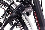 28″ Zoll Cityrad ALU Fahrrad E-BIKE Pedelec CHRISSON E-LADY mit 7G SHIMANO NEXUS & StVZO schwarz - 9