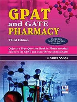 GPAT and Gate Pharmacy by [G, Vidya Sagar]