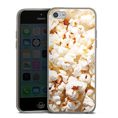 DeinDesign Slim Case Silikon Hülle Ultra Dünn Schutzhülle für Apple iPhone 5c Kino Popcorn Poppin Corn - Case-kino 5c Iphone
