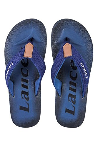 Lancer Men's Synthetic Flip-Flops (9)  available at amazon for Rs.299