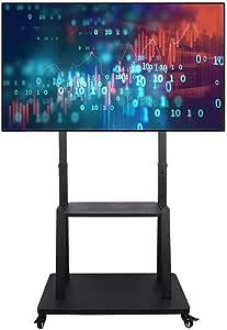 Unho Tv Ständer Mit Rollen Tv Standfuss Universal Elektronik