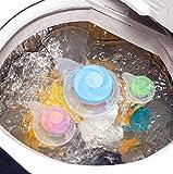 Upxiang Waschmaschine, No-Fluff Trockner Bälle, Hair Ball Removal Tool, Waschmaschine Hair Ball Saug Haare Entferner