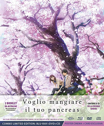 Voglio Mangiare Il Tuo Pancreas (Digipack Limited Edition) (Blu-Ray+Dvd+Cd+Cards+Poster) (Limited Edition) (6 Blu Ray)