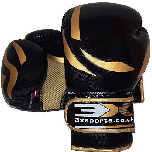3XSports Boxhandschuhe Trainings Boxing Gloves Sandsackhandschuhe Kickboxhandschuhe