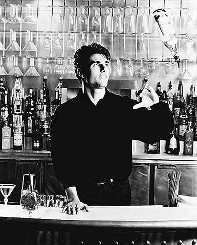 Moviestore Tom Cruise als Brian Flanagan in Cocktail 25x20cm Schwarzweiß-Foto